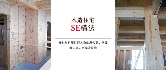 木造住宅 SE構法 優れた耐震性能と自由度の高い空間 最先端の木構造技術