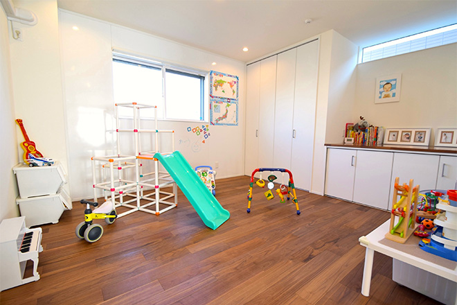 家族の成長に合わせ、家のあり方も変えていける家づくり01