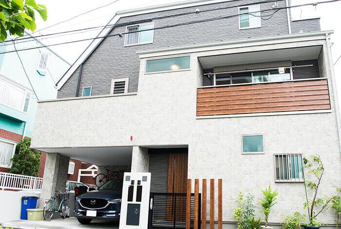 世田谷の二世帯住宅パッシブデザインの家